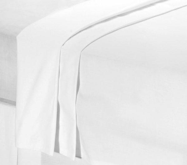 Bespoke Size Flat Sheets. Percale 50/50 Polycotton, 100% Cotton & Satin Stripe.-0