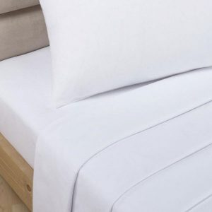 Percale Polycotton Fitted Sheet-0