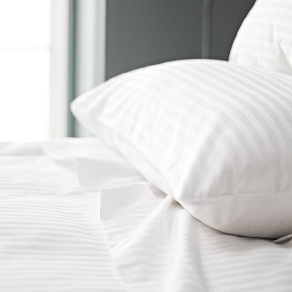 Satin Stripe Pillow Cases-0